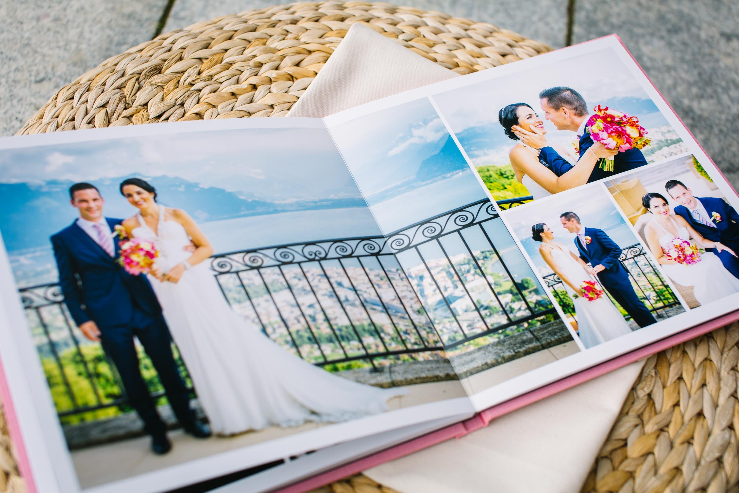Pick a wedding album to suit the style of your special day.