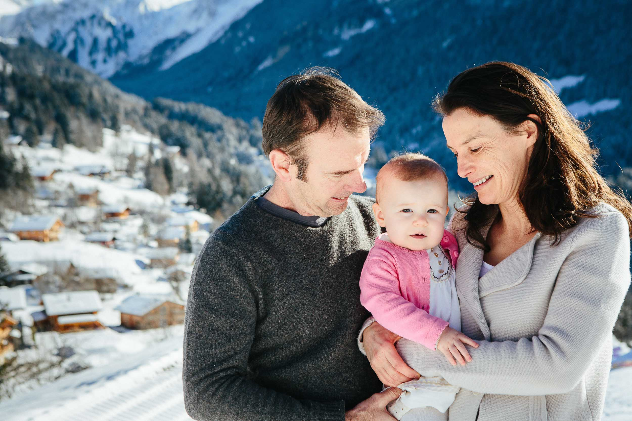 Family photos in the snow 03