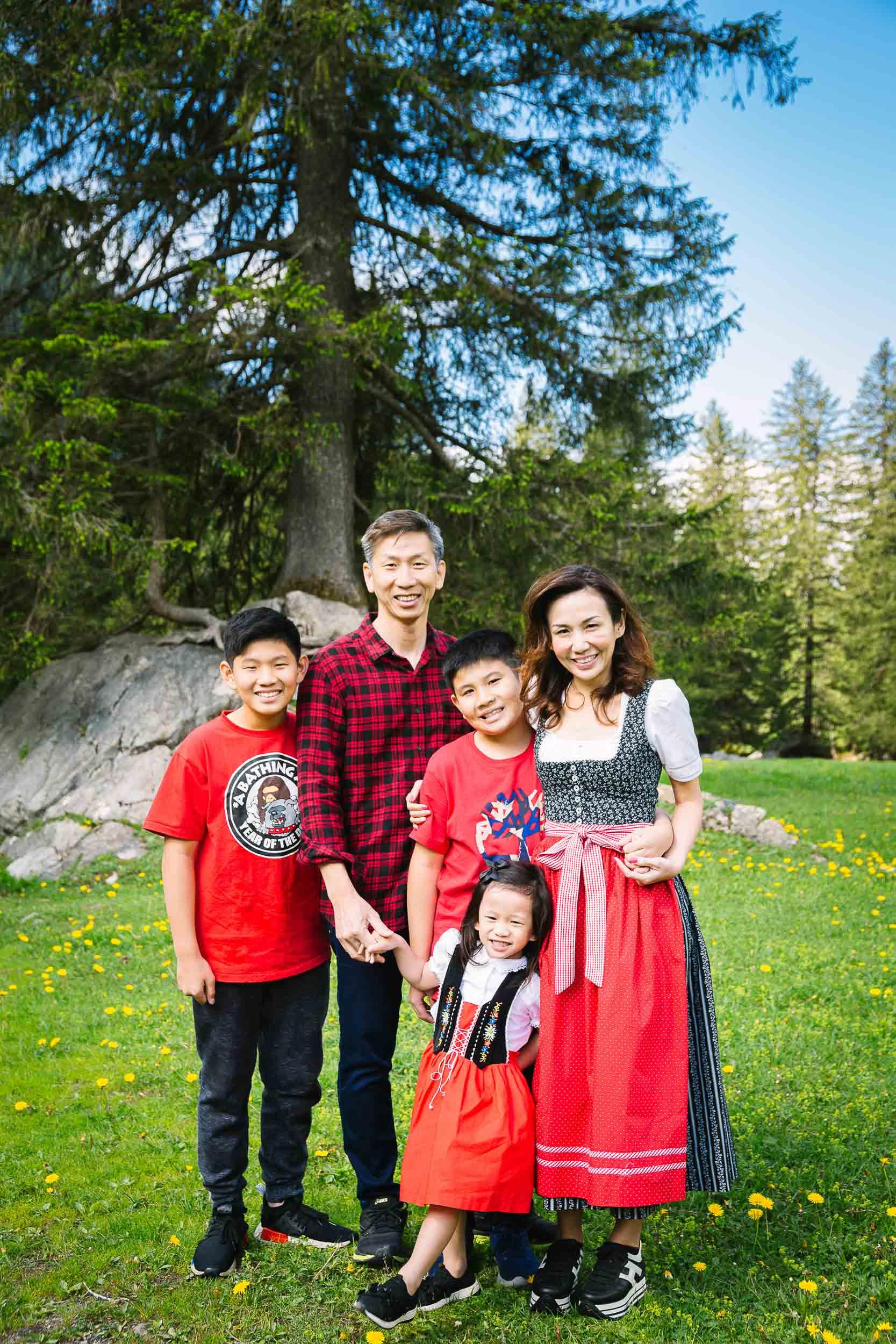 Family vacation shoot Switzerland 02