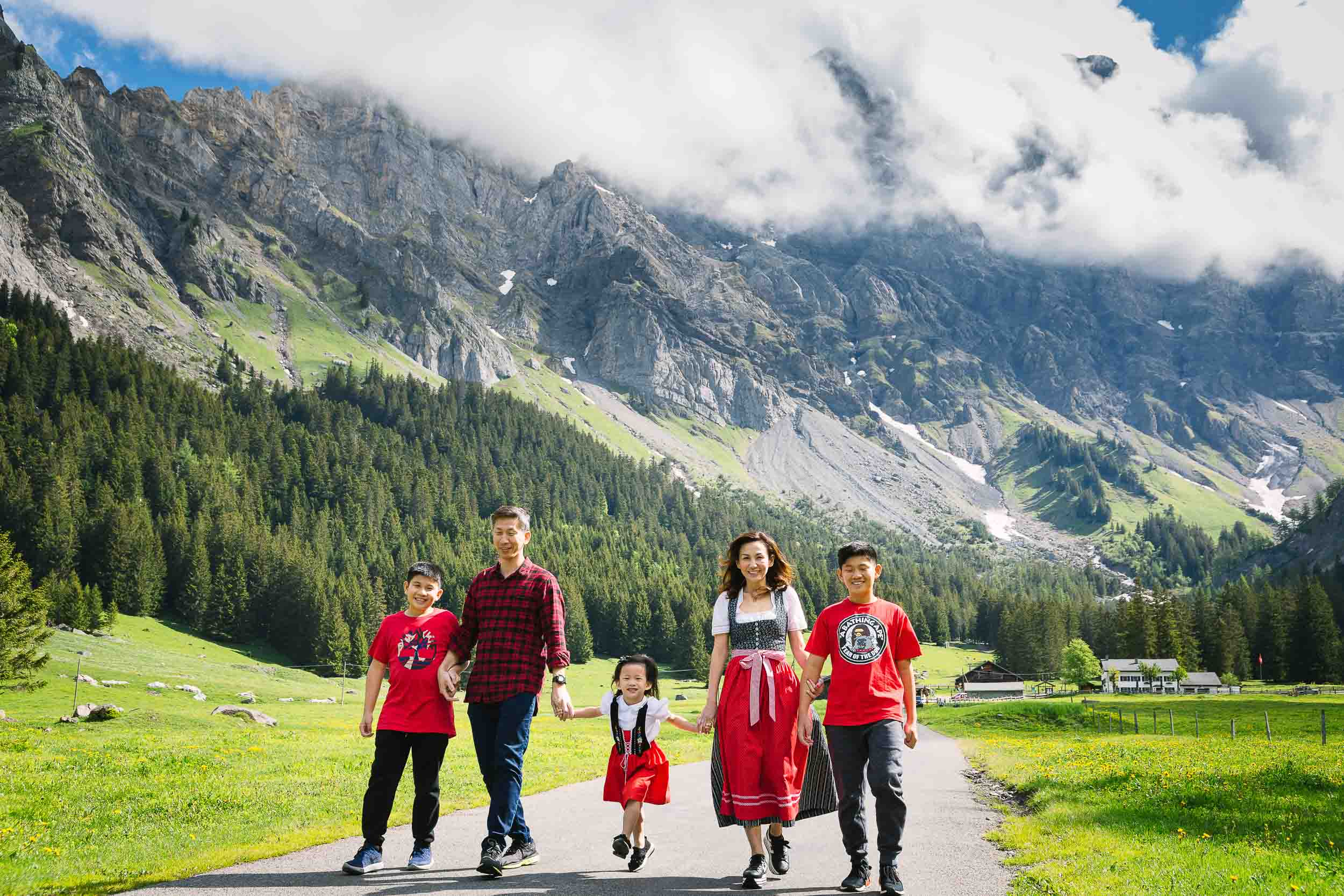 Family vacation shoot Switzerland 01
