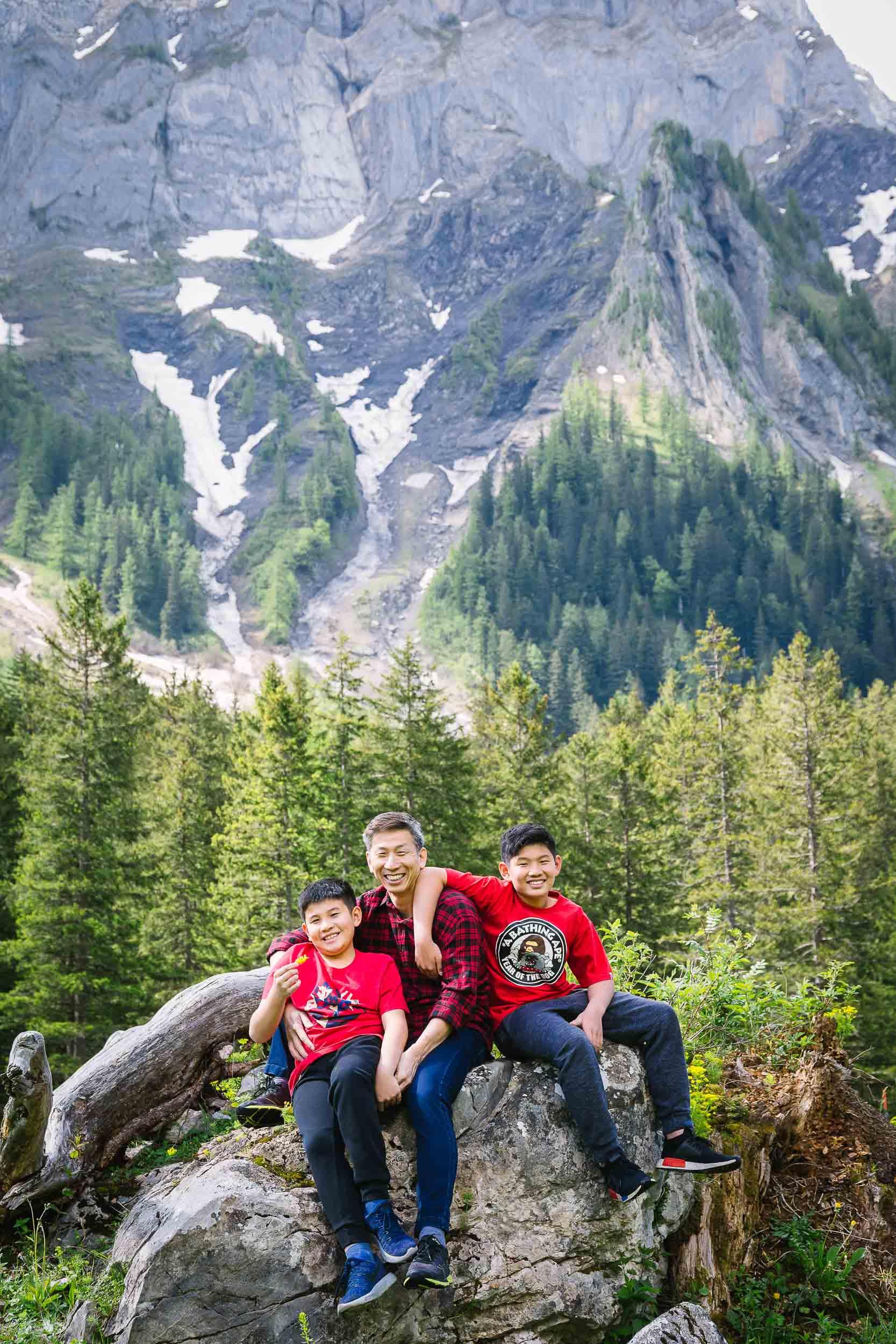 Family vacation shoot Switzerland 06