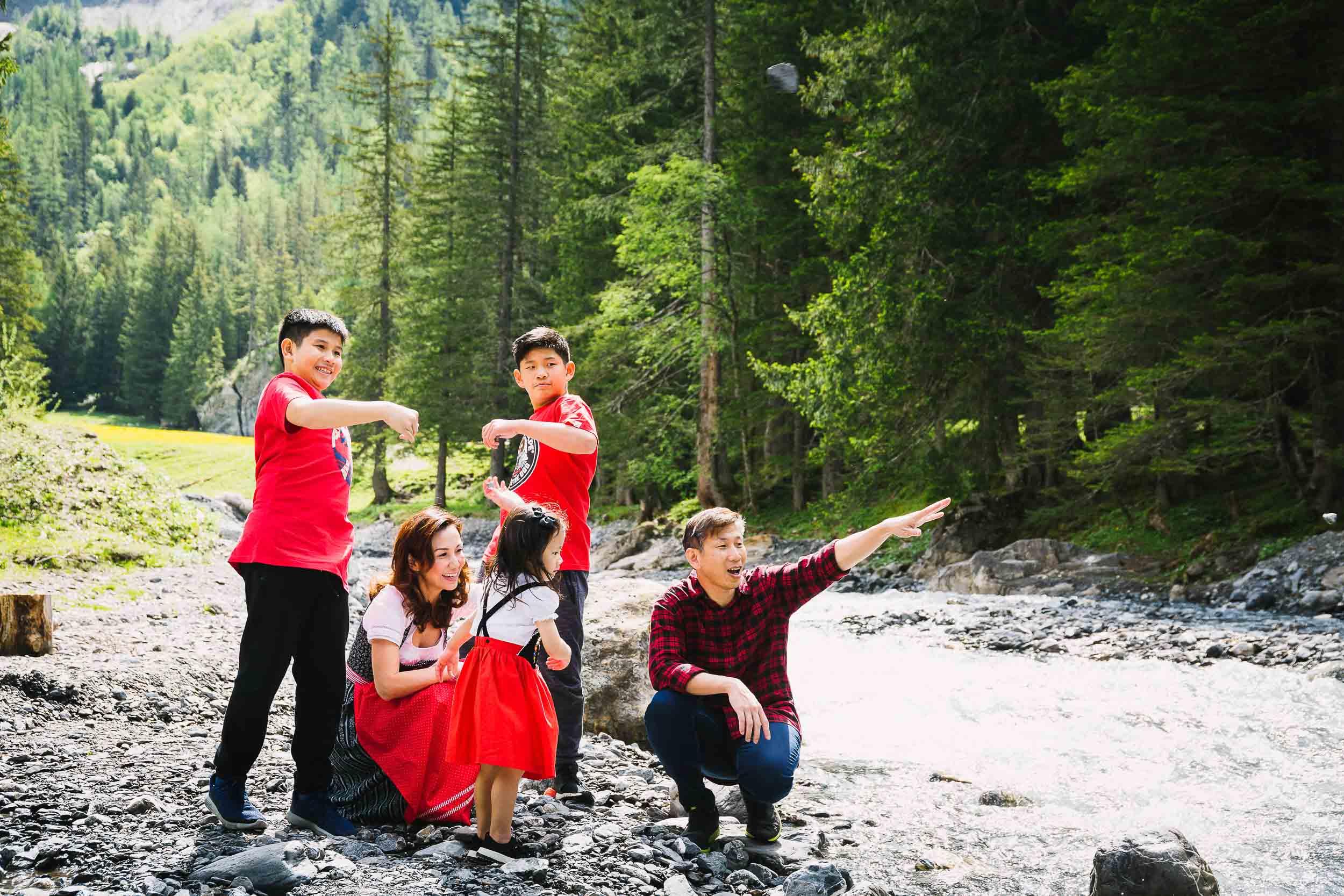 Family vacation shoot Switzerland 09