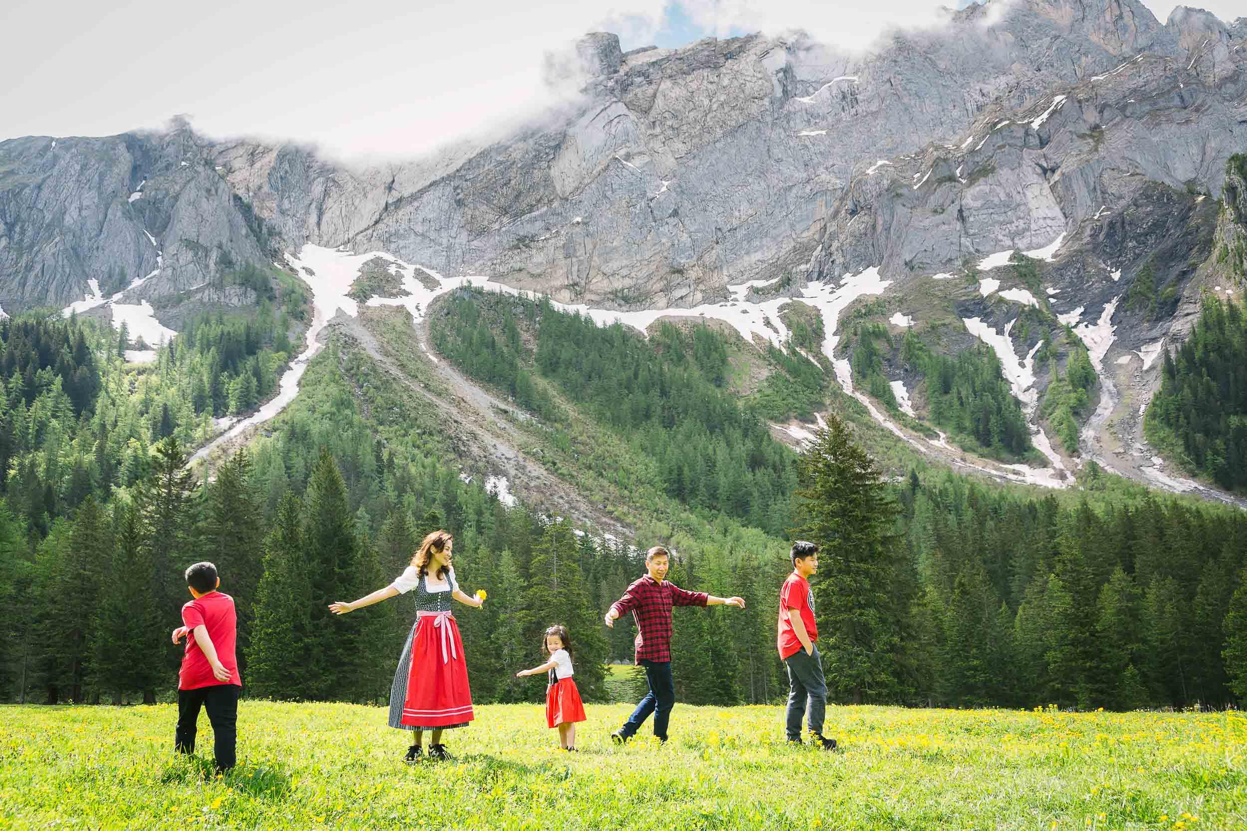 Family vacation shoot Switzerland 12