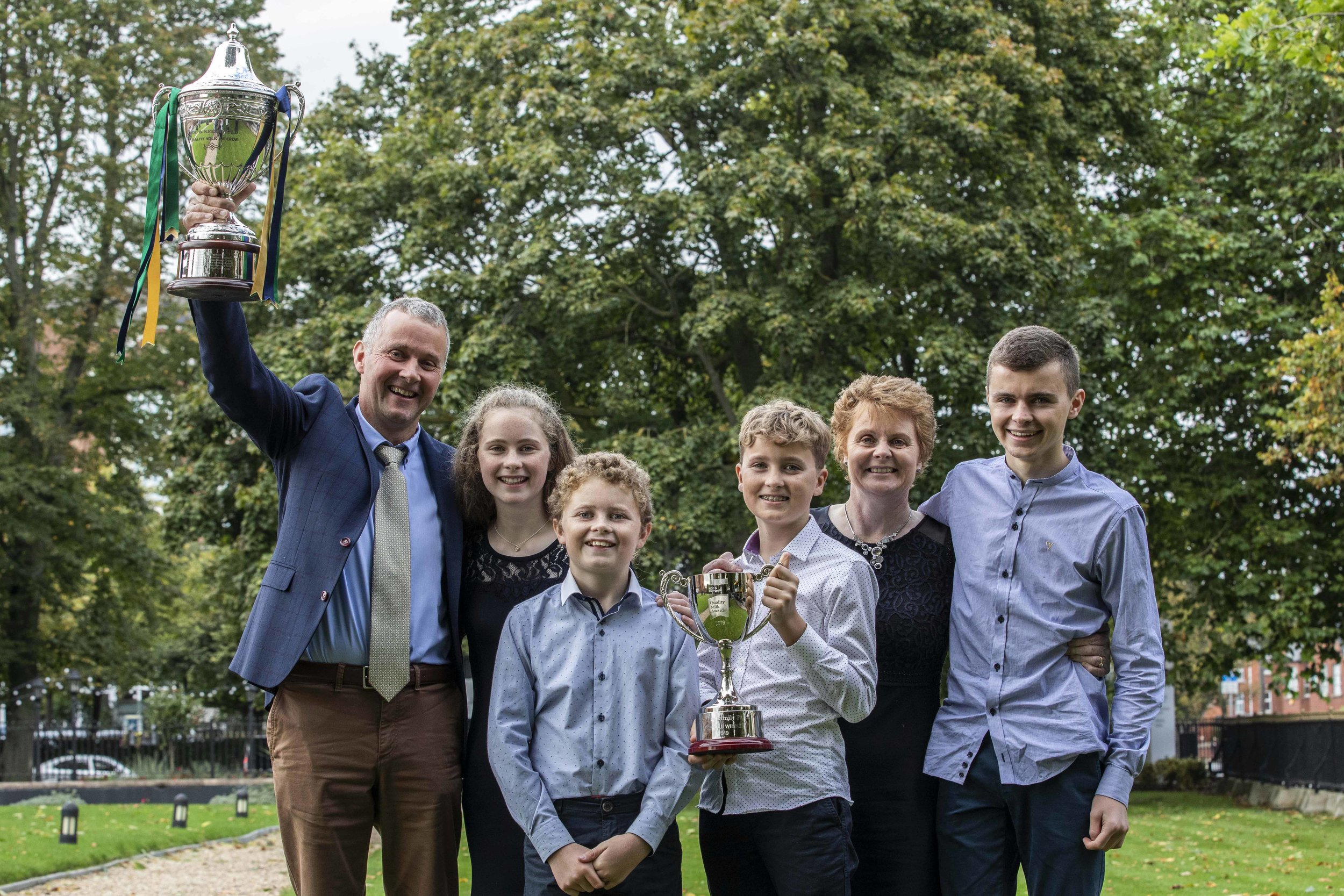 The NDC & Kerrygold Quality Milk Awards crowned the Hearne family farm as the top-quality milk producer in the country