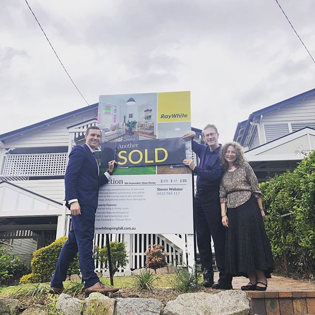 🏡 Another auction, another sold sticker! The 💯% clearance rate continues! 🔥