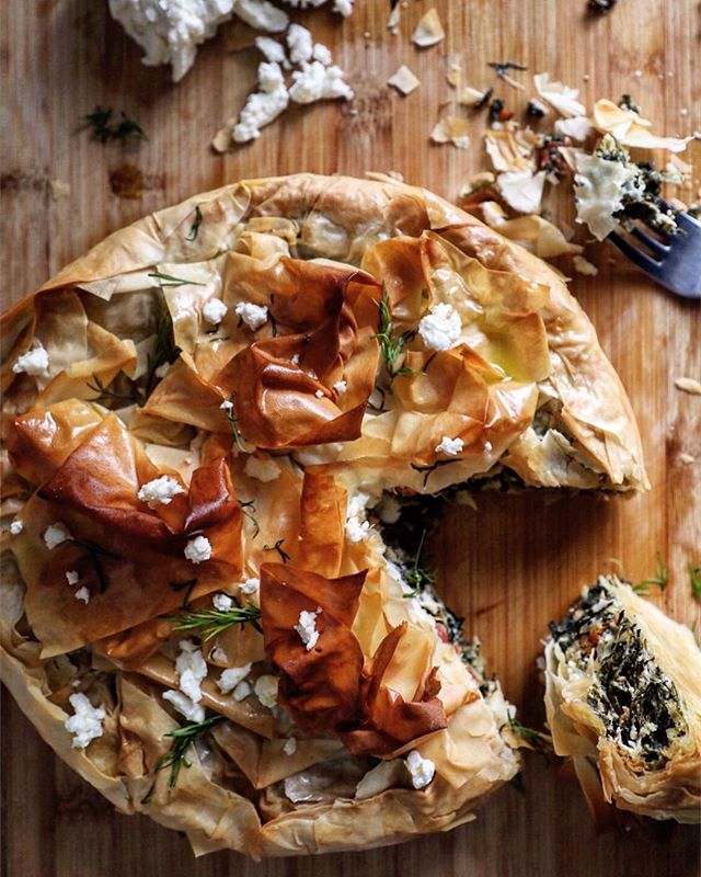 Find the recipe for this heaven Spinach and Feta Filo Pie in this months @afoodieworld - absolutely delicious! . #fetapie #spinachandfeta #spinachandfetapie #brunch #meatfreemonday #meatlessmonday #foodphotography #foodstyling #foodblogger #hkfoodblogger #feedfeed @thefeedfeed #f52grams #thekitchn #hautecuisines #beautifulcuisines #heresmyfood #gloobyfood #bbcgoodfood #foodieflatlays #mylittlehongkongkitchen #huffposttaste #foodandwine #saveurmag #lifeandthyme #mycommontable #foodieflatlays #bonappetit #saveurmag #eeeeeats #pinkladysnapsmar19
