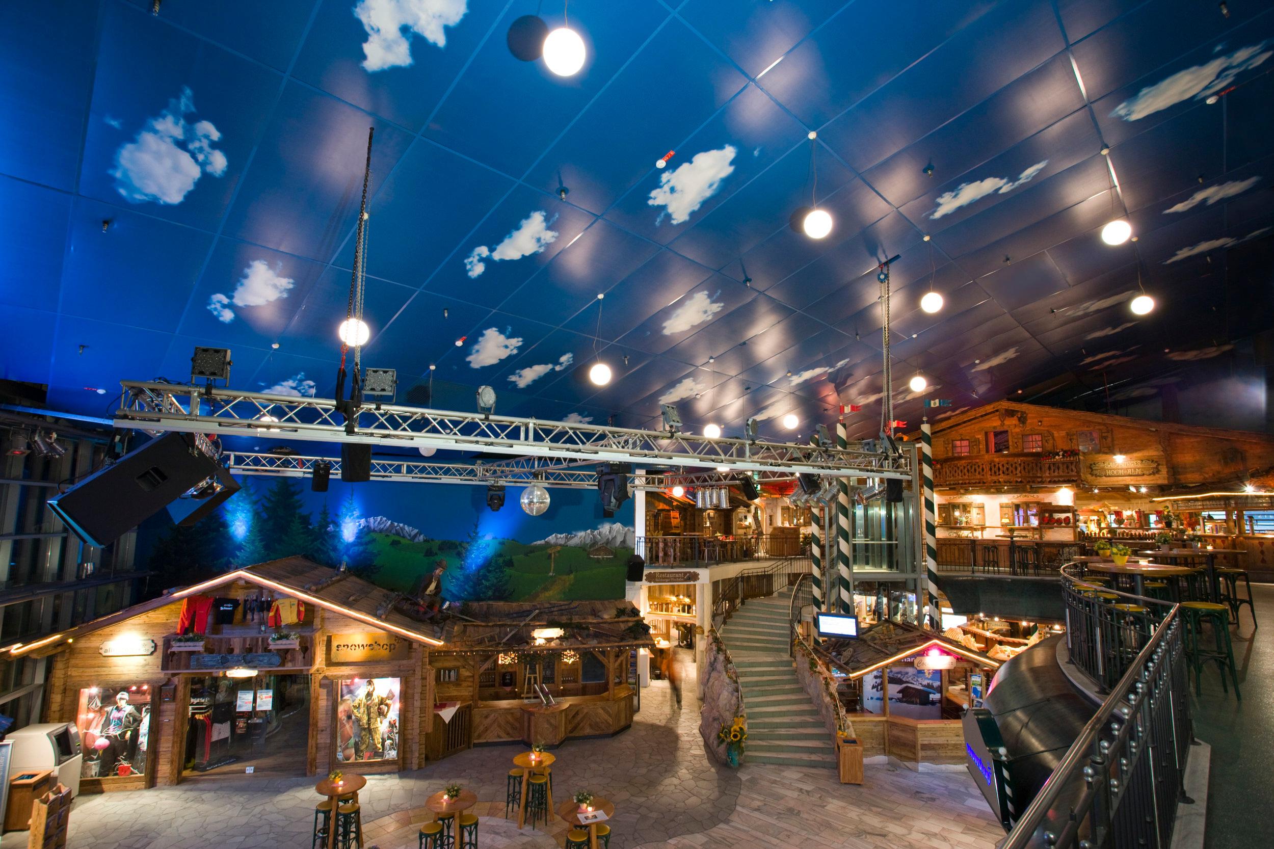 Skihalle, Neuss - Mediatex® Presto