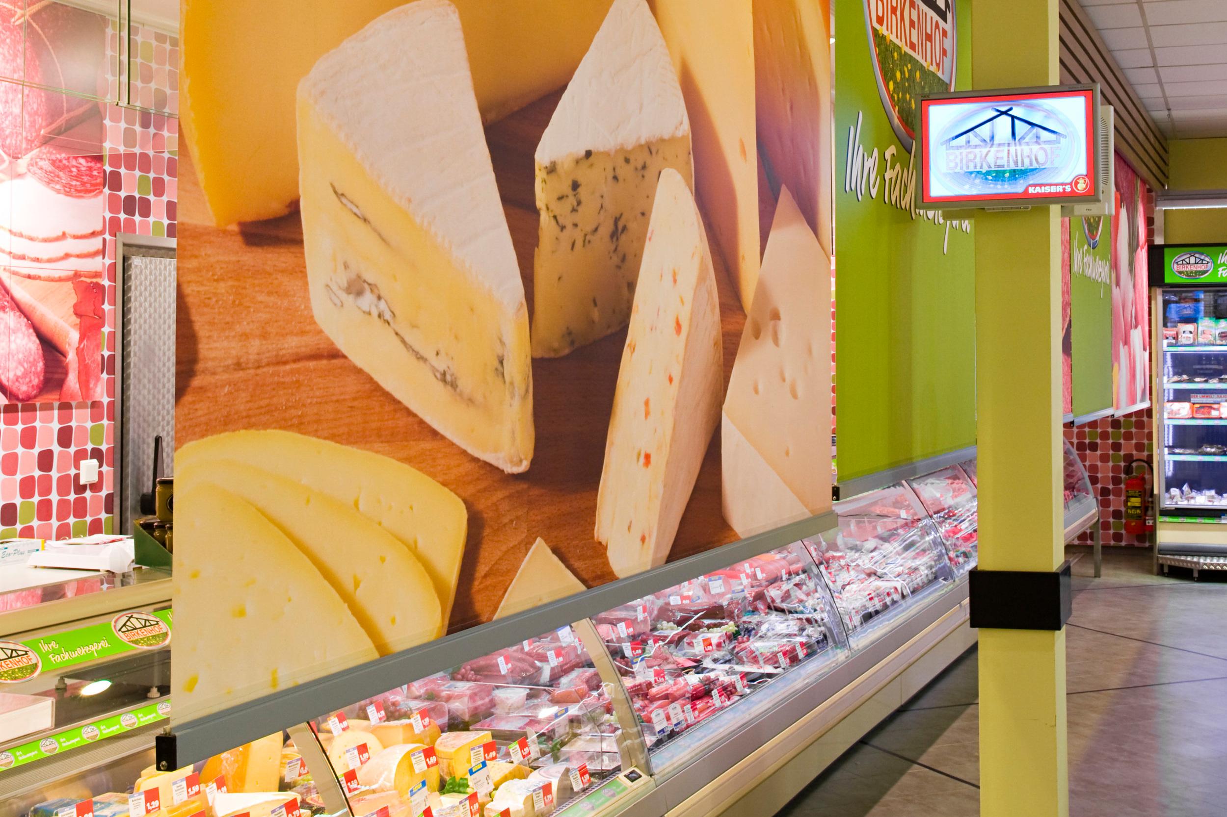 Frischetheke Supermarkt, Deutschland - Mediatex® Bermuda