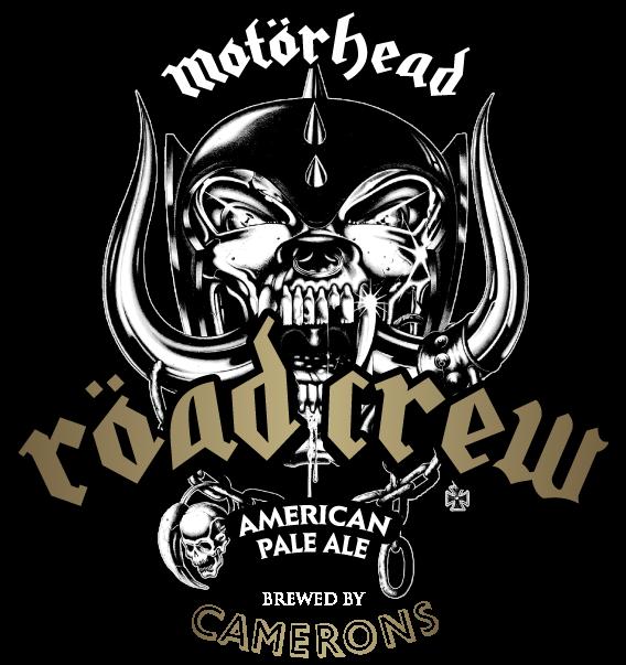Wir haben das    Motörhead Röad Crew Bier    im Ausschank vom Fass!