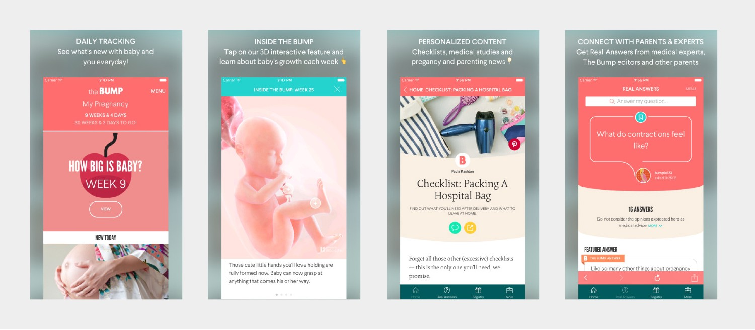 The Bump — #1 app for first time mums