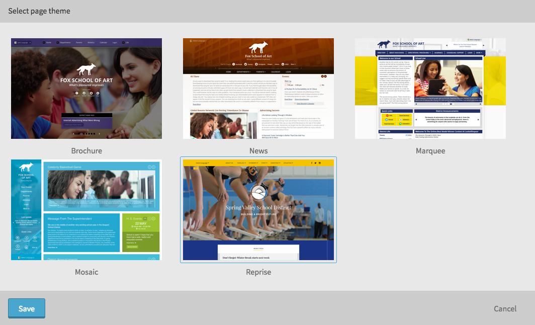 Website Theme Picker