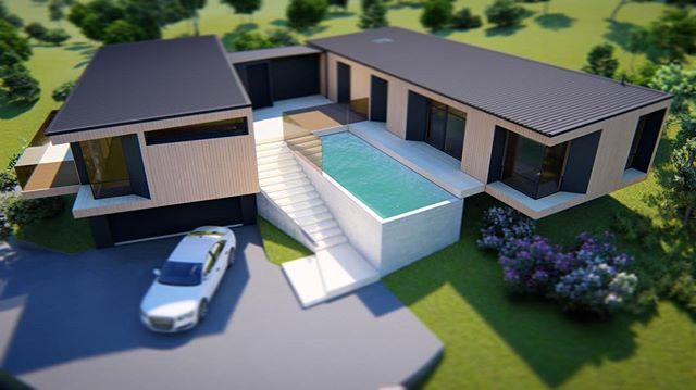 Ridgeway - Richmond Hill, Sumner {concept} -June '19 #nzarchitecture #adnz #designnz #architecturenz