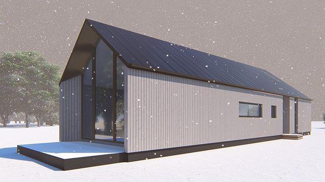 Ski tip - Chalet, Castle Hill {concept} - May '19 #nzarchitecture #adnz #designnz #architecturenz