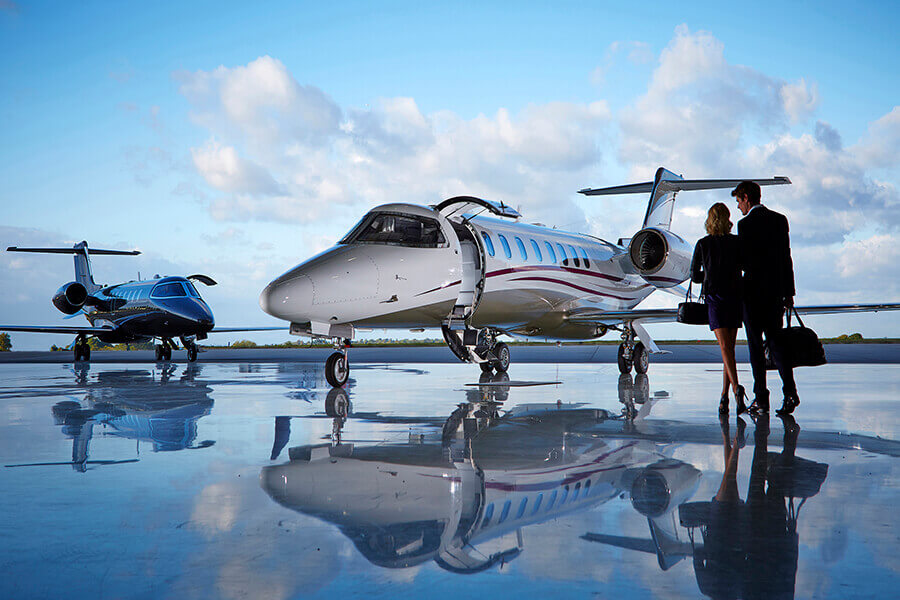 Zenith Aviation's Bombardier Learjet 75 provides the luxury and comfort of a larger aircraft in a light jet, delivering the ultimate travel experience.