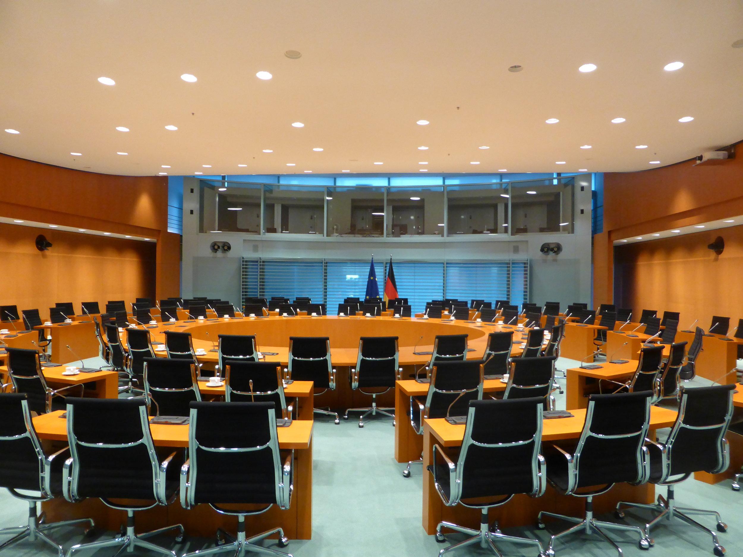 Der Internationale Konferenzraum.