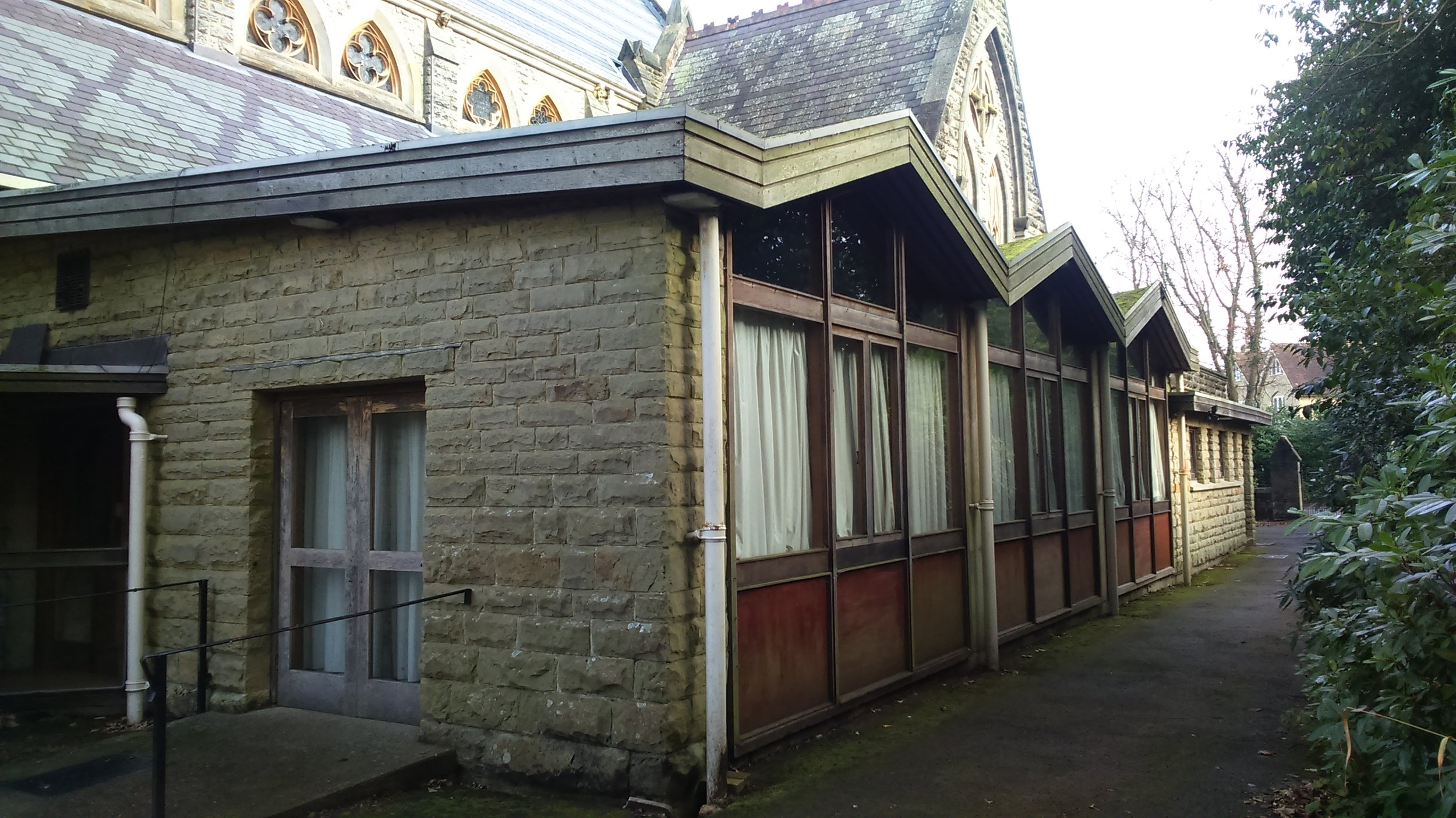 Church hall exterior