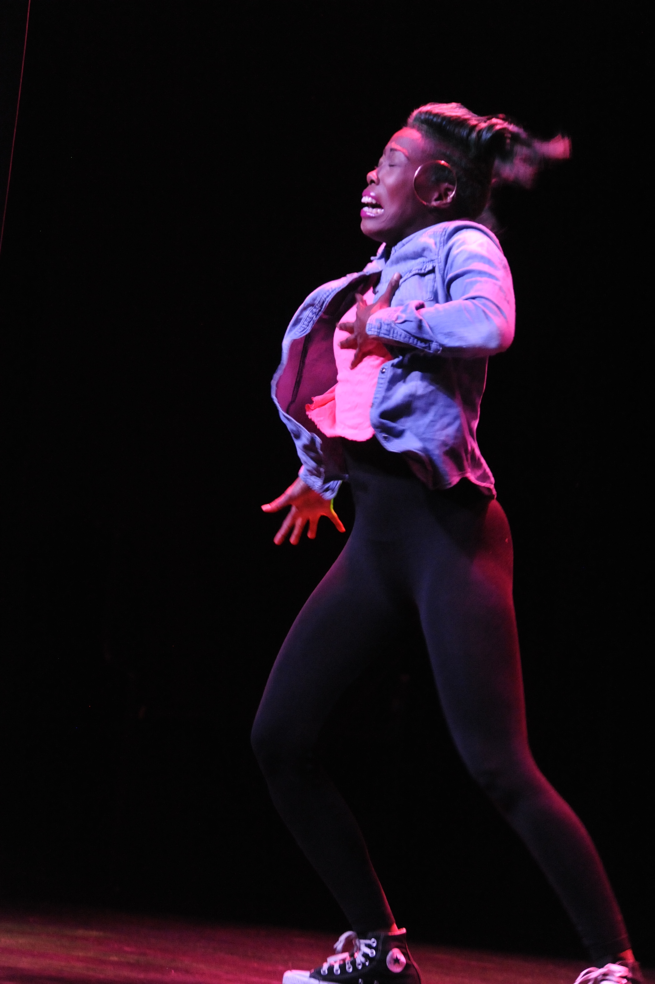 Miss Prissy in _Body of Work_ photo by Michael Ensminger.JPG