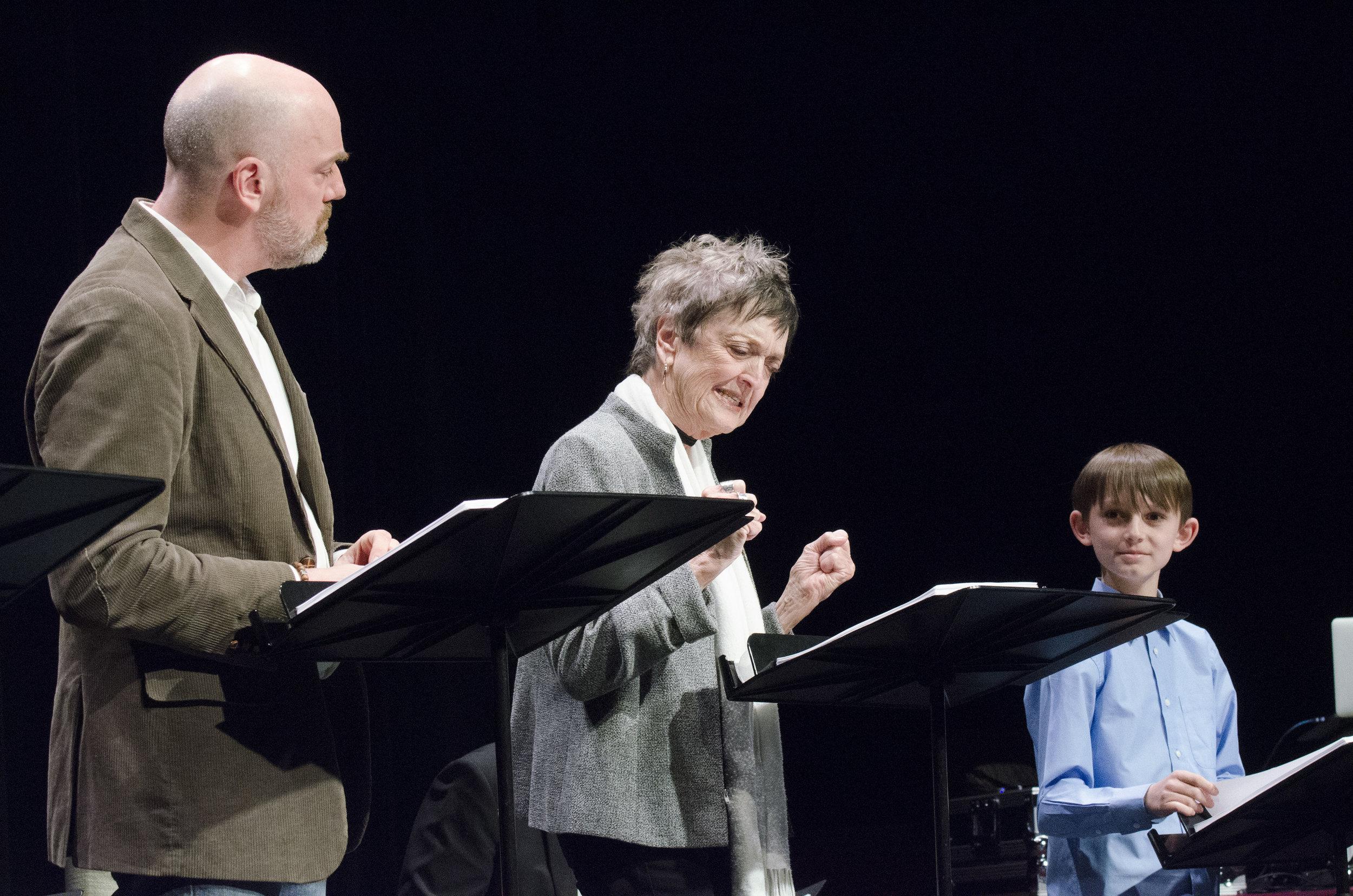 Steven Cole Hughes, Nancy Linehan Charles, Augie Reichert