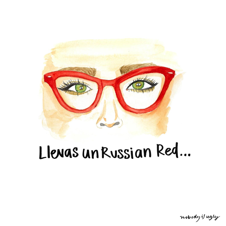 russian red MAC