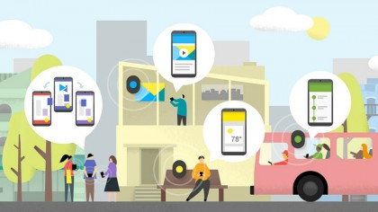 Bluetooth beacons are being installed in city centres (Image: Google)