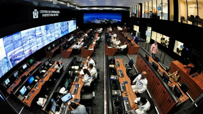 Cities like Rio have smart city control centres (Image: IBM)