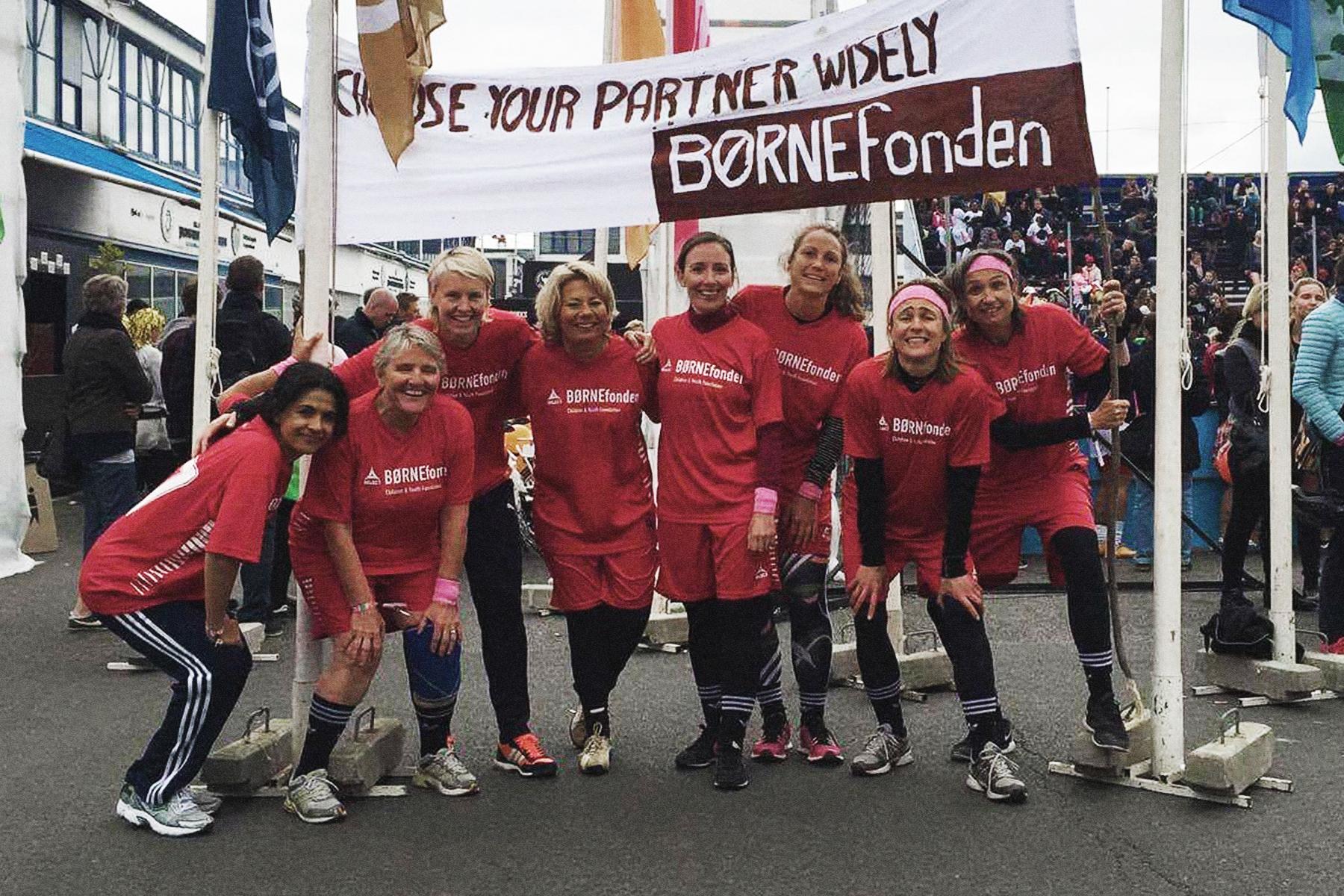 Team Børenfonden – goal 17 –