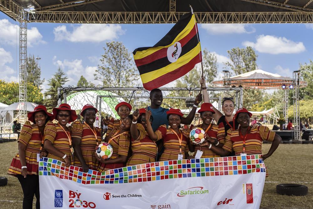 Poverty Alleviation Warriors Uganda - goal 1 -