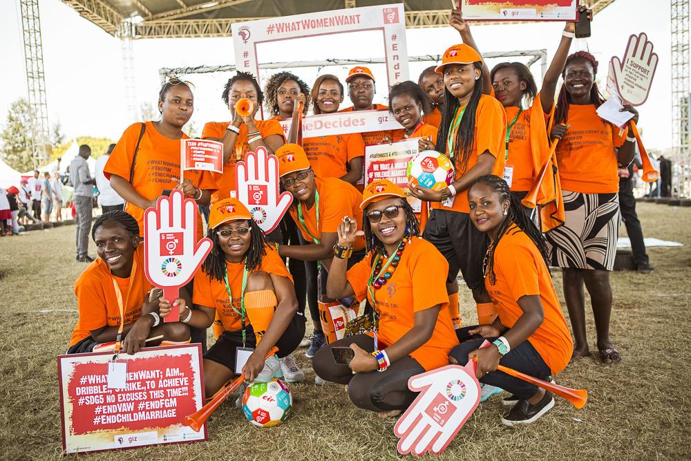 Team FAB Feminist, FEMNET - goal 5-