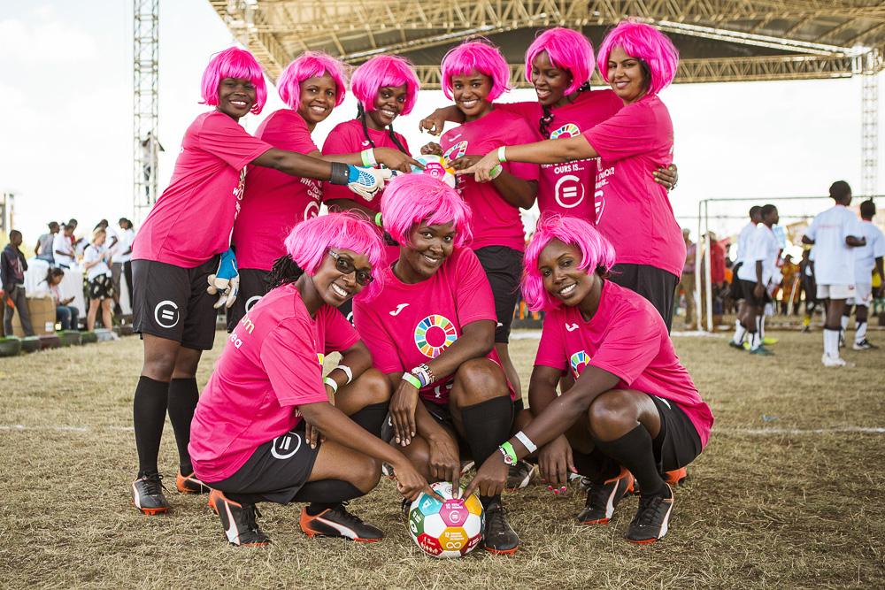 Team Pepea, Safaricom - goal 10-