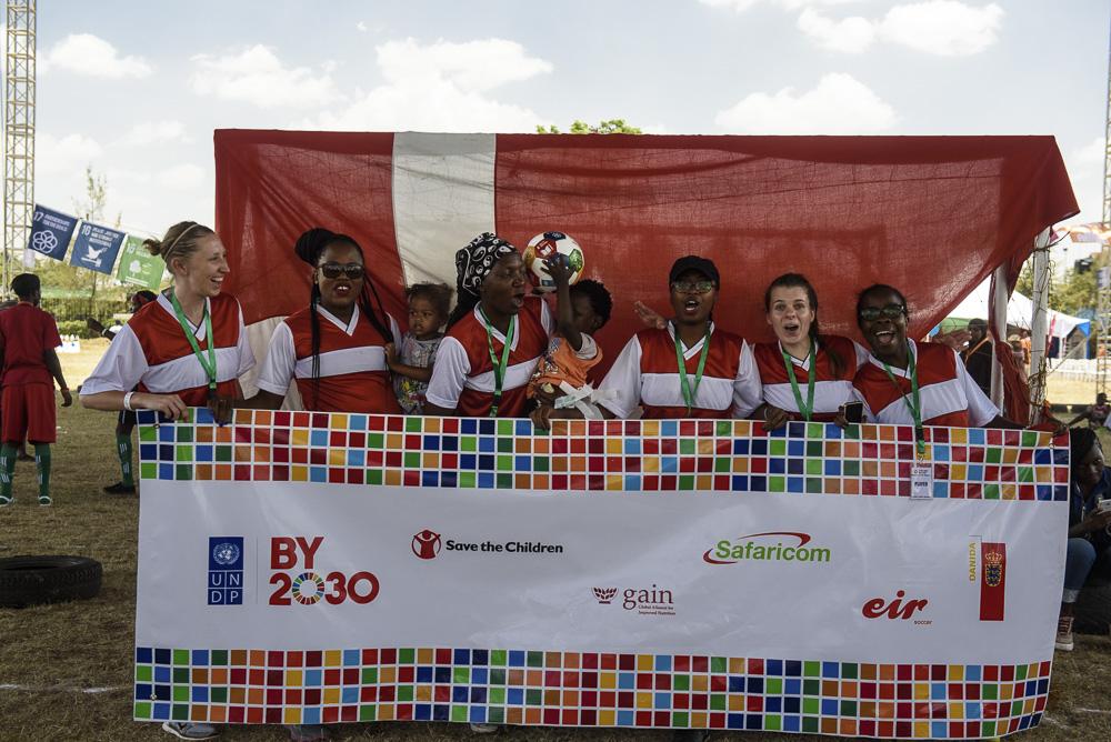 Team RDE, Royal Danish Embassy - goal 16-