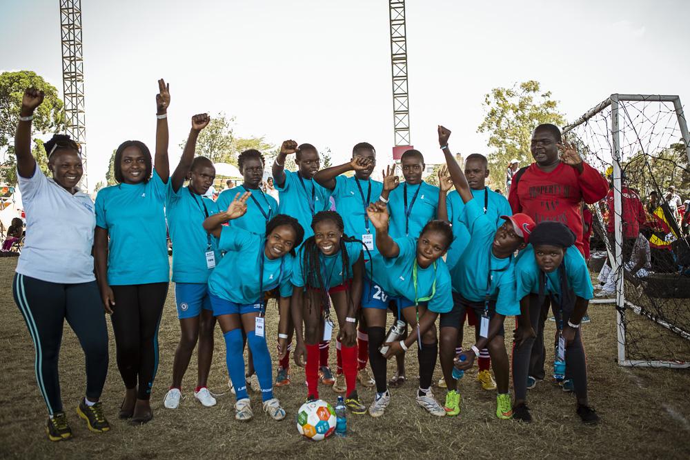 Warembo na SDG's White Ribbon - goal 3-