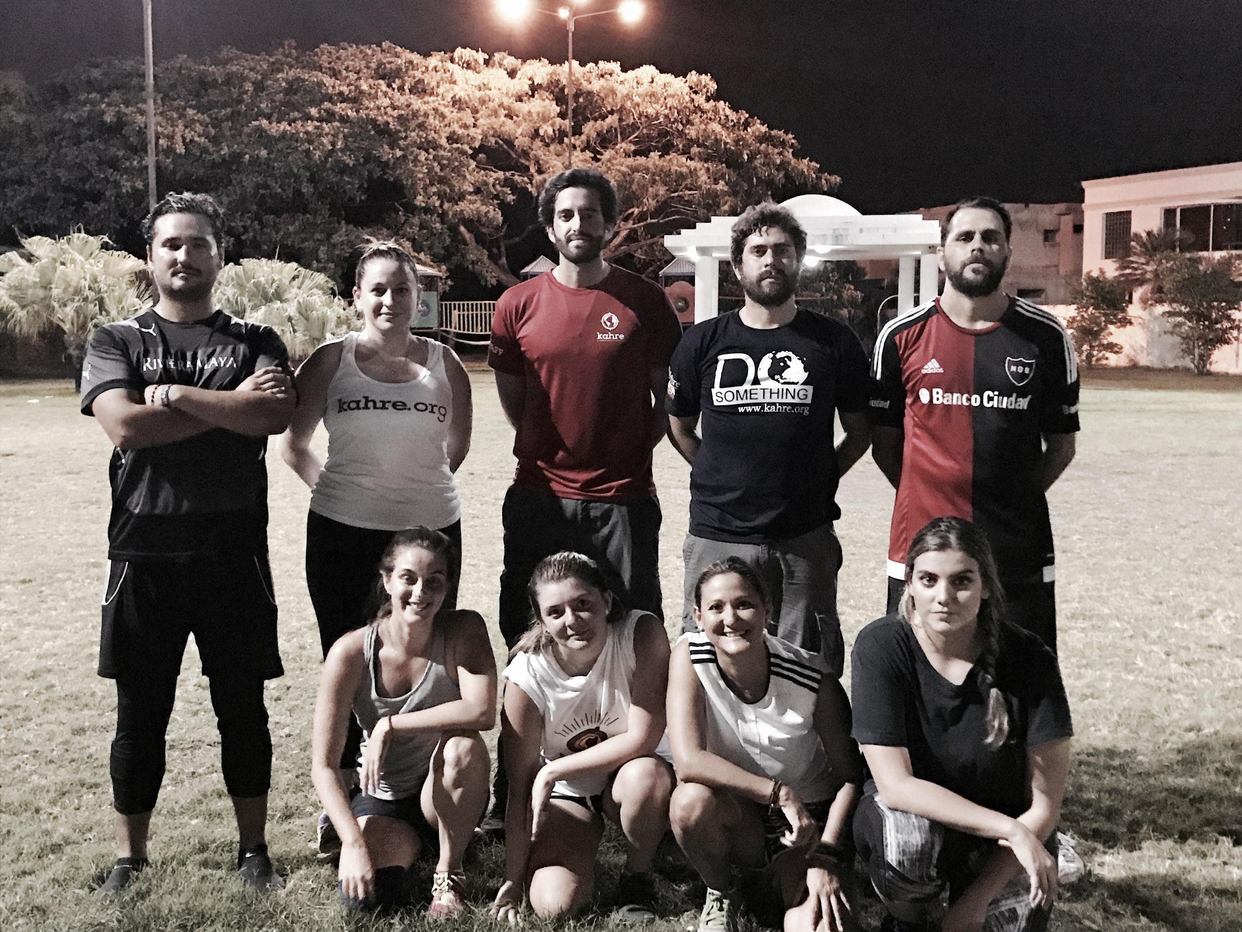 The KAHRE team
