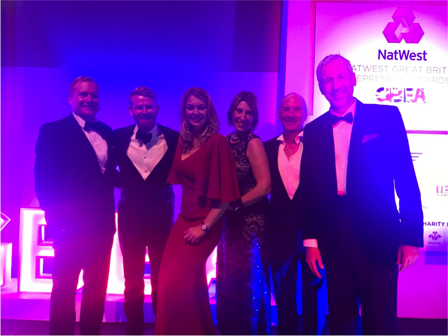 Anna Assassa  is one of the few female founders and CEO's in the IT buisness. In 2017 She won the NatWest British Entrepreneur Award with her company:  Tisski (photo from awards)
