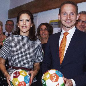HRH Princes Mary & DK Min. of Finance Kristian Jensen