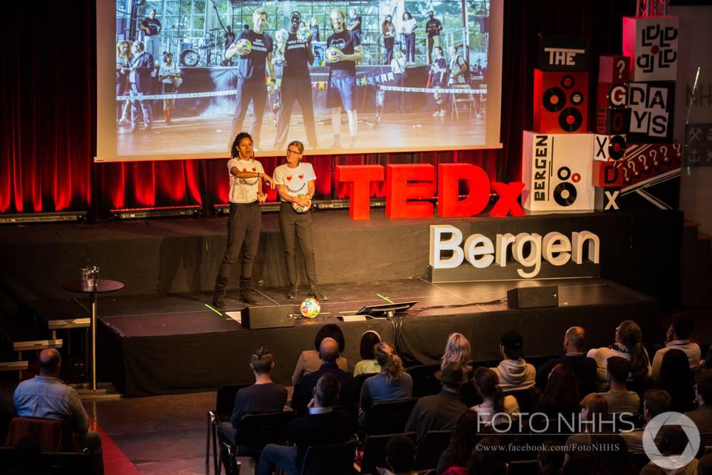 2018 TEDx talk in Bergen, Norway - Majken and Rikke did the first TEDx talk in Bergen.