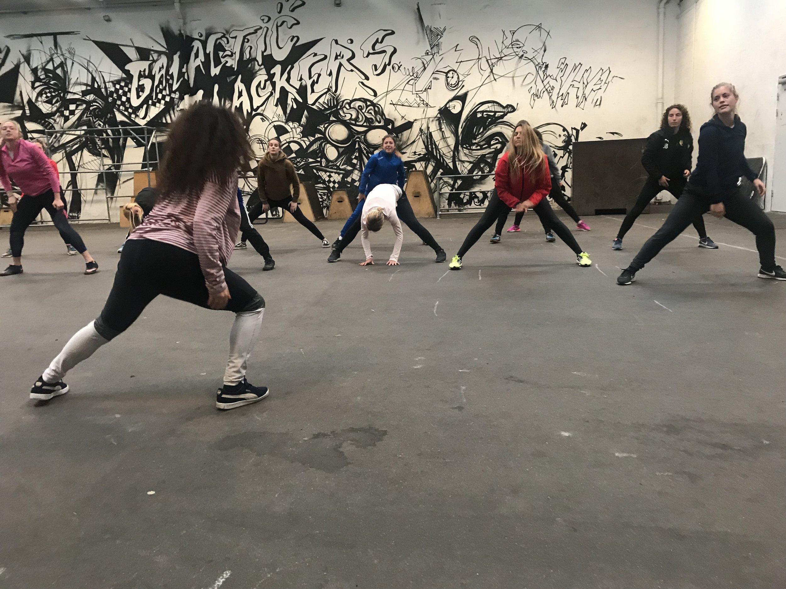 A beginners mind: dancing