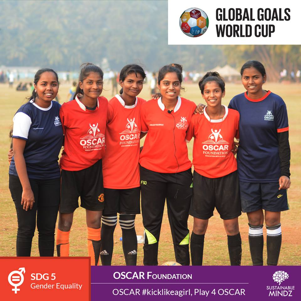 One organisation that is known for the hard work that they've put in to make our society a better place is team  OSCAR Foundation . They are advocating Gender Equality and are going to be a very strong competitor to all the other teams come February. Let's welcome the newest team with a big round of applause!