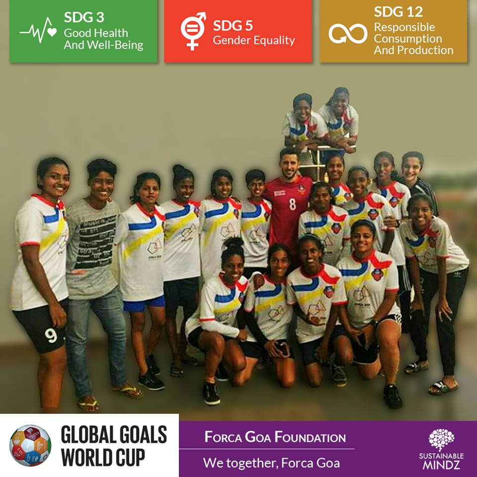 Forca Goa Foundation  is a team that has multiple and diverse Sustainable Development Goals and football runs in their veins. When a team uses football as a tool to empower the people of the country, then we know for sure they will be a force at the GGWCup Mumbai. Here's hoping for some cracking games that lie ahead!