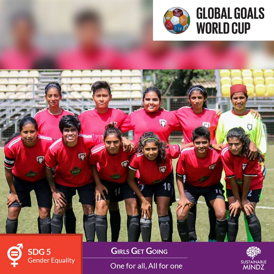 Girls Get Going is a part of the  PIFA Foundation  and have been working tirelessly towards Gender Equality, their Sustainable Development Goal. And when hard work is their DNA, it will not be any surprise to see them out-run all other opponents on the field at the GGWCup Mumbai 2019. Here's wishing them the very best for upcoming games.