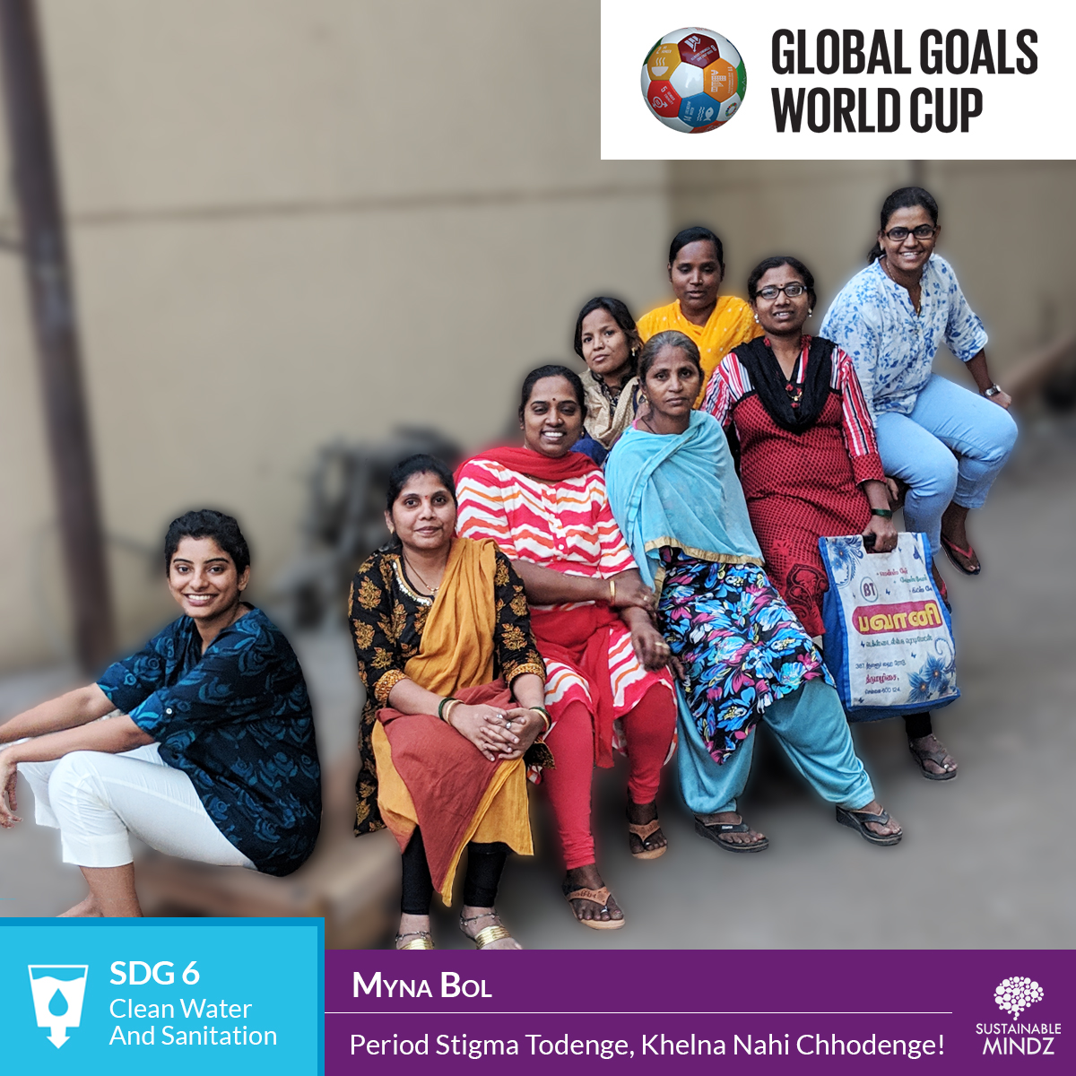 The  Myna Mahila Foundation  works to empower women to talk about issues that they are afraid to discuss out loud and we salutes this spirit! They'll be hoping to reign supreme come February as they'll go head-to-head against the others at the GGWCup Mumbai.