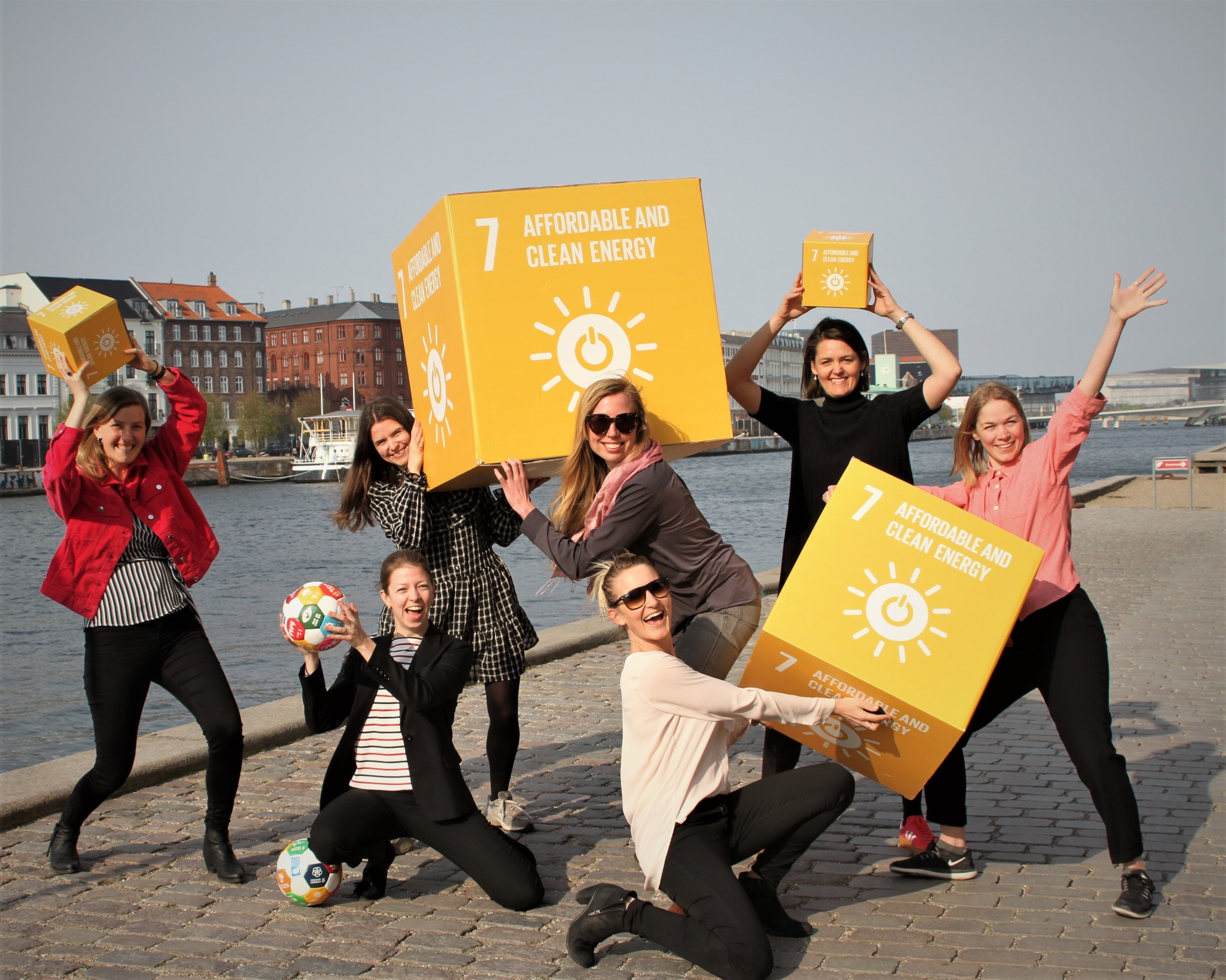 THE ENERGIZERS - Global Goal 7 - Affordable & clean energy