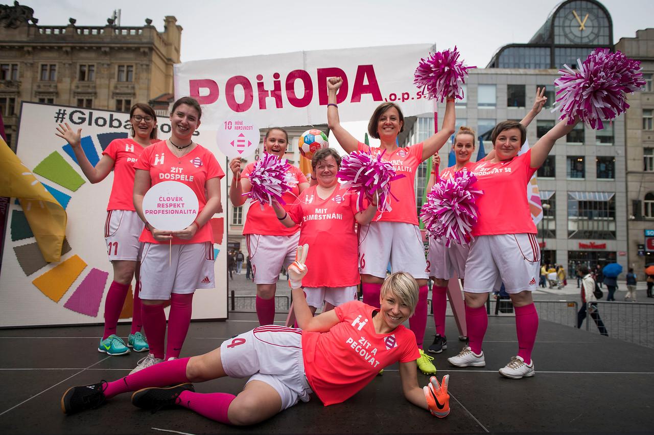 #jsemvpohodě represents POHODA - SDG 10