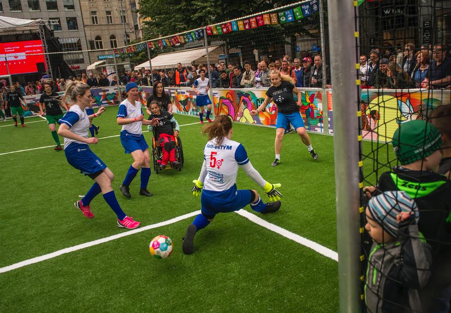Ladies of Fair Football SDG 10 vs Self-esTÝM SDG 5