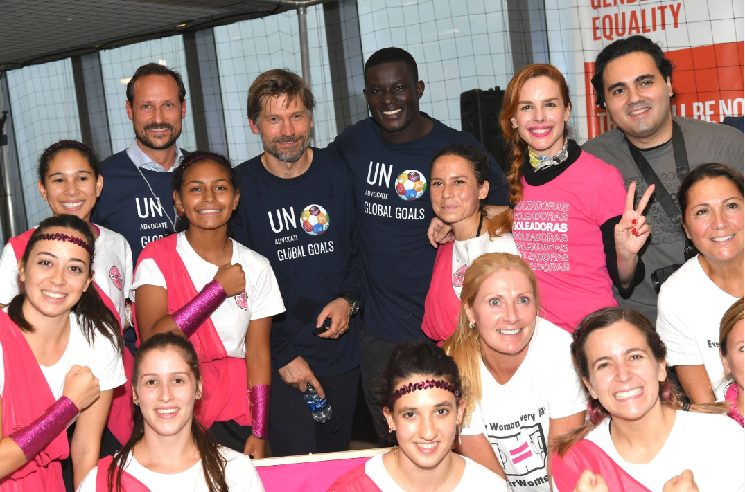 Team Goleadoras - Global Goal 5 - Gender EqualityGGWCup Finals NYC 2019