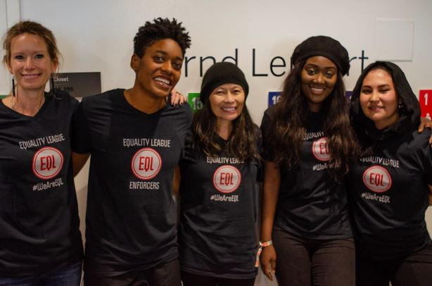 Team Equality League Enforcers - Global Goal 5 - Gender EqualityGGWCup Finals NYC 2019