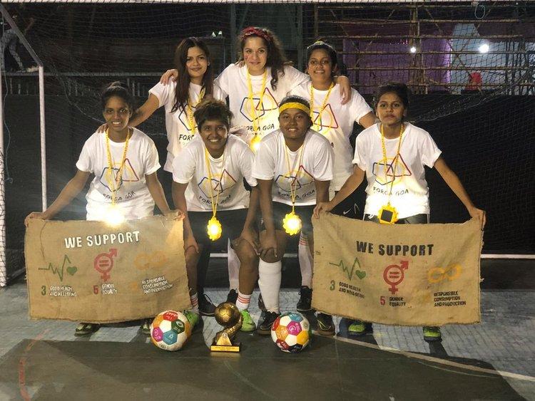 Team Forca Goa - Global Goals 3 + 5 + 12
