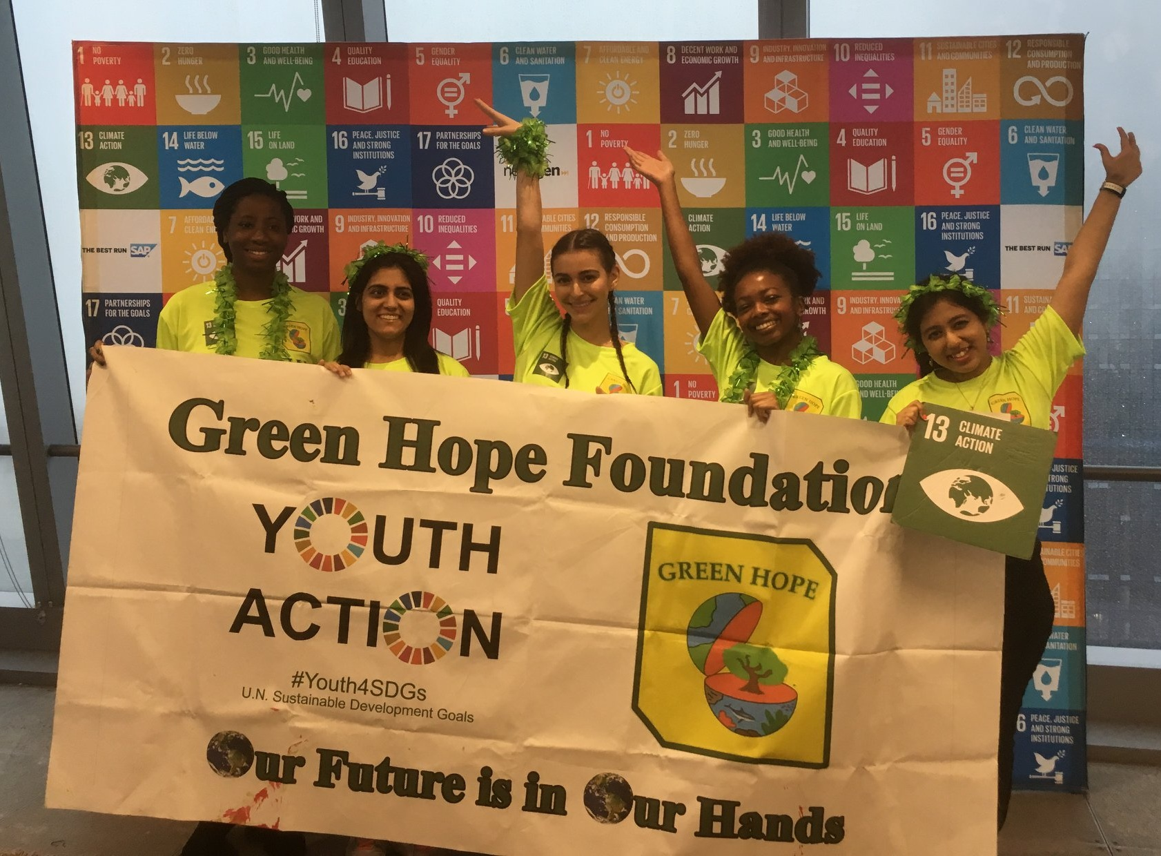 Team Green Hope Foundation - Global Goal 13 - Climate Action
