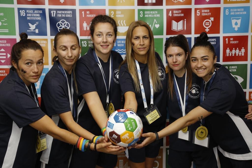 Hestia FC - Global Goal 16