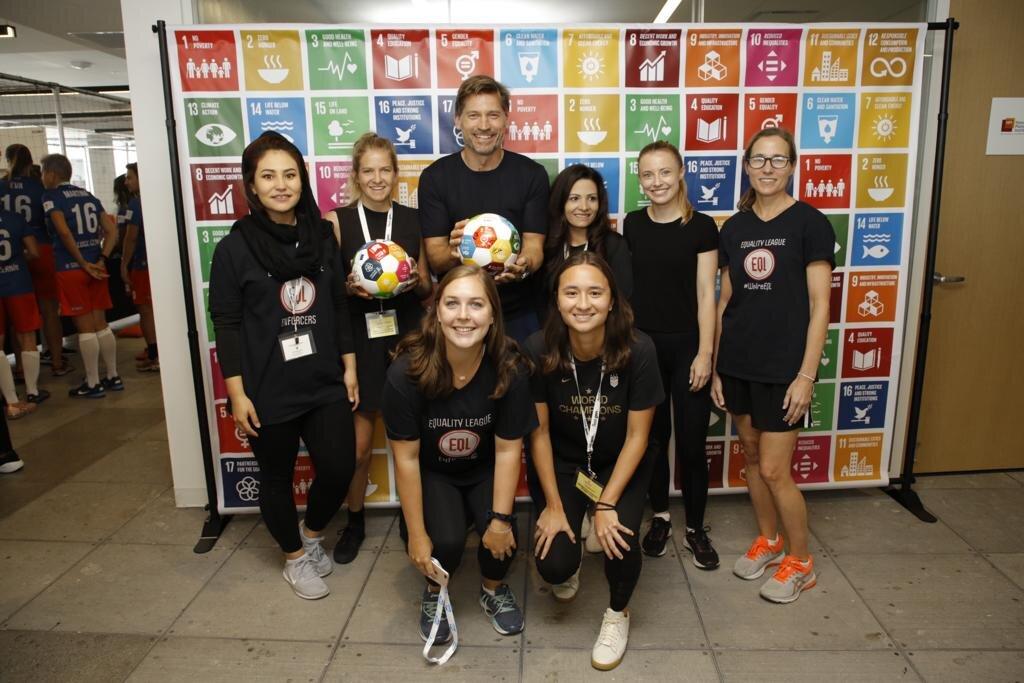 Equality League Enforcers - Global Goal 5