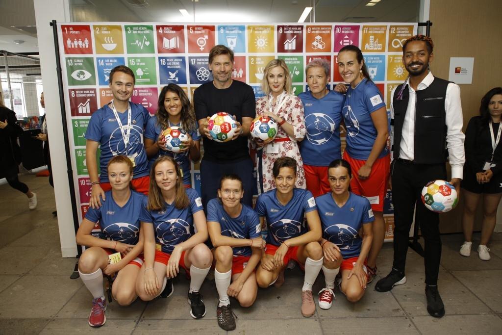 FK Lvice Černín - Global Goal 16